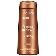 L'Oreal Paris Sublime Body Expertise Bronze Luminous Bronzer Self-Tanning Lotion