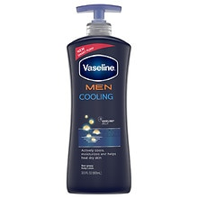 Vaseline Men Healing Moisture Cooling Non-Greasy Body Lotion