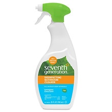 Seventh Generation Disinfecting Bathroom Cleaner Lemongrass Citrus