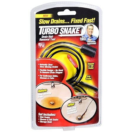 Turbo Snake Drain Hair Removal Tool