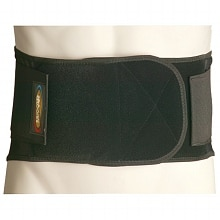 Maxar Work Belt Industrial Lumbar-Sacral Support Economy XX Large Black