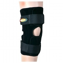 Airprene Wrap-Around Knee Brace (Double-Pivot Hinge) XX-LargeXX Large, Black