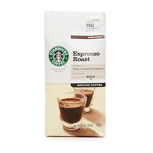 Starbucks Coffee Dark Roast,  Espresso, Ground