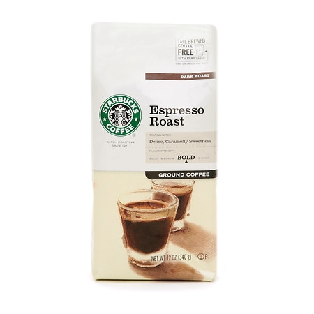 Starbucks Dark Roast,  Espresso, Ground