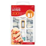 Kiss Full Cover Nails Kit Short Length, Short Square