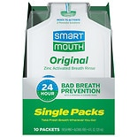 SmartMouth On the Go Mouthwash 10 Pack Fresh Mint