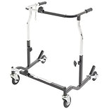 Drive Medical Bariatric Heavy Duty Anterior Safety Roller CE 1000 XL Black