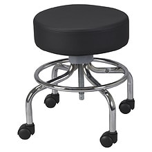 Drive Medical Deluxe Wheeled Round Stool