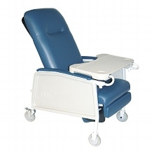 Drive Medical 3 Position Heavy Duty Bariatric Geri Chair Recliner Blue Ridge