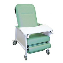 3 Position Heavy Duty Bariatric Geri Chair/Recliner, Jade