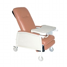 3 Position Geri Chair/Recliner, Rosewood