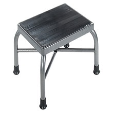 Drive Medical Heavy Duty Bariatric Footstool without Handrail and Non Skid Rubber Platform