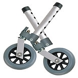 Drive Medical Swivel Lock Walker Wheels 5 Inch