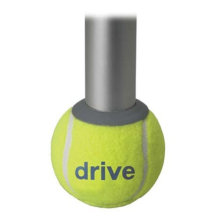 Drive Medical Walker Rear Tennis Ball Glides with Can