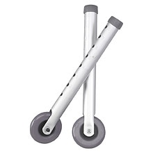 "Drive Medical Universal 3"" Walker Wheels Gray"