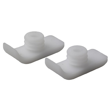 Drive Medical Walker Ski Glides White