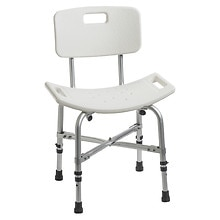 Drive Medical Bariatric Heavy Duty Bath Bench With Back
