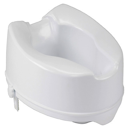 Drive Medical Raised Toilet Seat with Lock 6 Inch