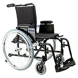 Drive Medical AK516ADA-ASF Cougar Ultra Light Wheelchair, 16-inch Detachable T Arm16 inch 16 inch