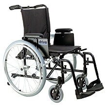 Drive Medical Cougar Ultra Lightweight Rehab Wheelchair 16 inch