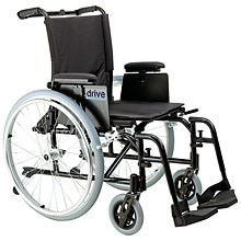 Drive Medical Cougar Ultra Lightweight Rehab Wheelchair 18""