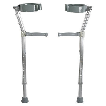 Drive Medical Lightweight Walking Forearm Crutches Bariatric