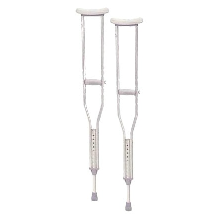 Drive Medical Walking Crutches with Underarm Pad and Handgrip Pediatric