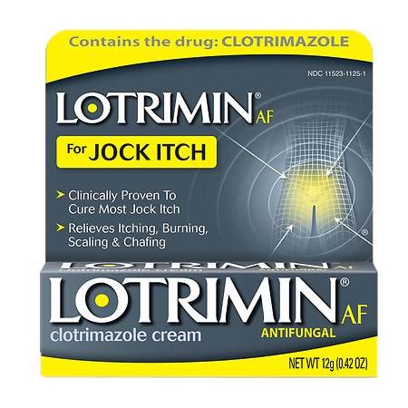 Lotrimin AF Antifungal for Jock Itch, Clotrimazole Cream