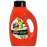 Tide Liquid Detergent plus Febreze Freshness, 30 LoadsActive Fresh Scent