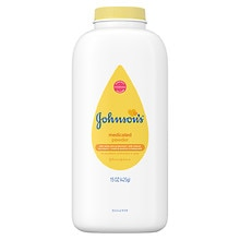 Johnson's Baby Pure Cornstarch Powder Medicated