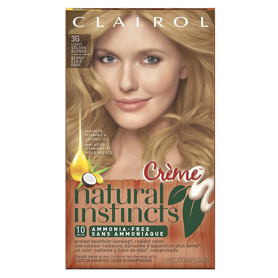 Clairol Natural Instincts Light Blonde Reviews