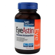 EyeAstin Astaxanthin Eye Health Dietary Supplement V-gels