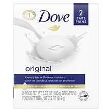 Dove Beauty Bars 2 Pack White