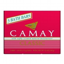 Camay Classic Bath Bar Soap Softly Scented,4 oz