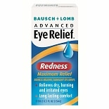 Advanced Eye Relief Redness Reliever/Lubricant Eye Drops Redness