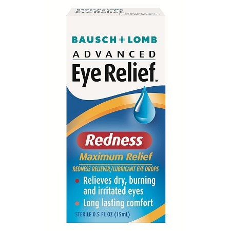 Advanced Eye Relief Redness Reliever/Lubricant Eye Drops