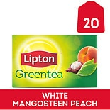 Lipton Green Tea, Superfruit White Mangosteen and Peach