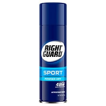 Right Guard Sport Sport Antiperspirant & Deodorant Aerosol Powder Dry