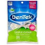 DenTek Triple Clean Floss Picks Fresh Mint