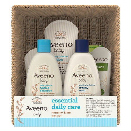 Aveeno Baby Essential Daily Care for Baby & Mommy Gift Set