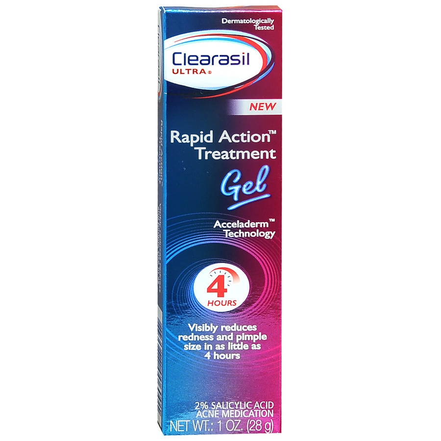 how to use clearasil ultra rapid action