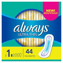 Always Ultra Thin Regular Pads without Wings Unscented