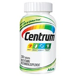 Centrum Multivitamins and Caltrate Calcium Supplements