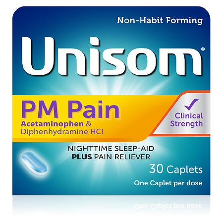 Unisom PM Pain SleepCaps