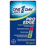 One A Day Men's Pro Edge Complete Multivitamin/Multimineral Supplement Tablets