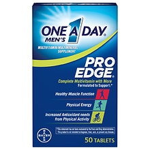 Men's Pro Edge Complete Multivitamin/Multimineral Supplement Tablets