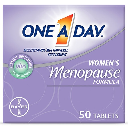 One A Day Women's Menopause Formula Multivitamin/Multimineral Supplement Tablets