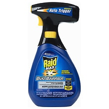 Raid Max Bug Barrier Starter Spray with Auto Trigger