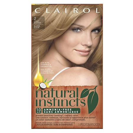Natural Instincts Hair Color Amber Shimmer