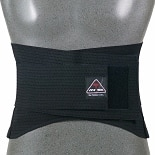 ITA-MED Breathable Duo-Adjustable Back Support with Back Pocket Medium Support Medium